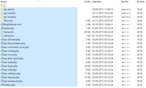 FTP Backup Sicherung