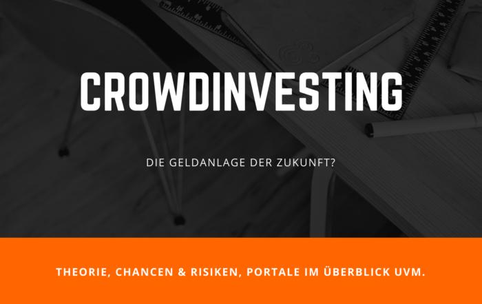 Crowdinvesting - Die Geldanlage der Zukunft