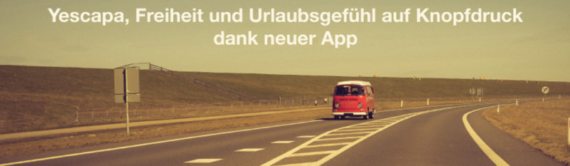 Yescapa App