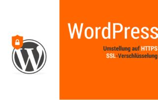 WordPress Umstellung auf https