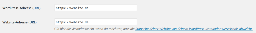 WordPress Umstellung auf https mit SSL-Zertifikat