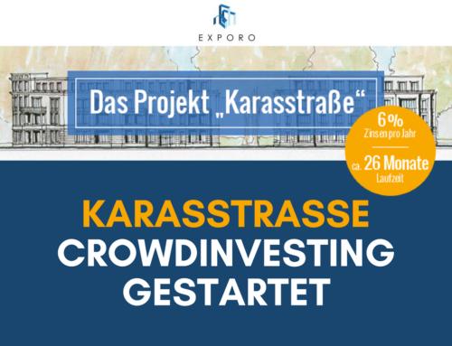 Immobilien-Crowdinvesting: Karasstraße auf Exporo gestartet