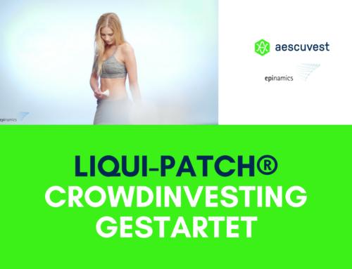 aescuvest startet Crowdinvesting für Liqui-Patch®