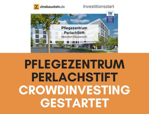 zinsbaustein startet Immobilien-Crowdinvesting für Pflegezentrum PerlachStift