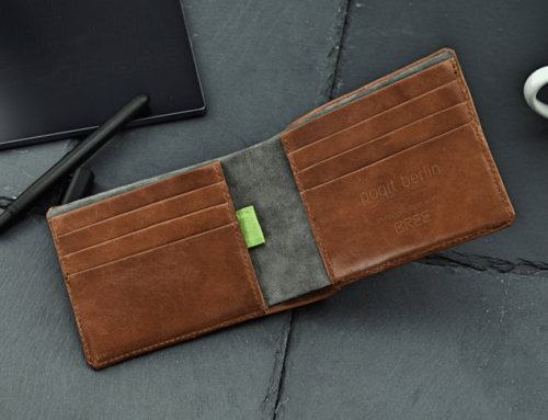 Berliner Start-up poqit.berlin und Premium-Taschenhersteller BREE starten innovative Kooperation: The Smart Charging Wallet